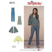 Simplicity Sewing Pattern 8610