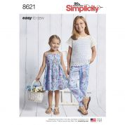Simplicity Sewing Pattern 8621