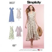 Simplicity Sewing Pattern 8637