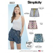 Simplicity Sewing Pattern 8651