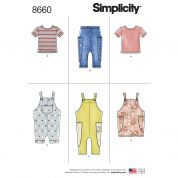 Simplicity Sewing Pattern 8660