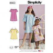 Simplicity Sewing Pattern 8663