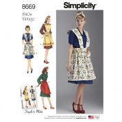 Simplicity Sewing Pattern 8669