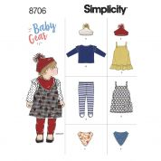 Simplicity Sewing Pattern 8706