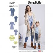 Simplicity Sewing Pattern 8707