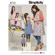 Simplicity Sewing Pattern 8712