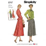 Simplicity Sewing Pattern 8747