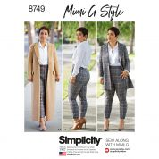Simplicity Sewing Pattern 8749