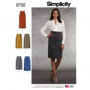 Simplicity Sewing Pattern 8792