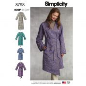 Simplicity Sewing Pattern 8798