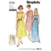Simplicity Sewing Pattern 8799