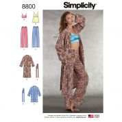 Simplicity Sewing Pattern 8800