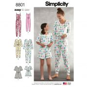 Simplicity Sewing Pattern 8801