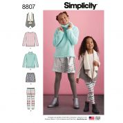 Simplicity Sewing Pattern 8807
