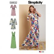 Simplicity Sewing Pattern 8832