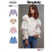 Simplicity Sewing Pattern 8839