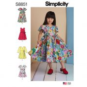 Simplicity Sewing Pattern 8851