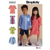Simplicity Sewing Pattern 8852