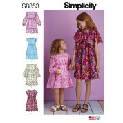 Simplicity Sewing Pattern 8853