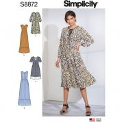 Simplicity Sewing Pattern 8872