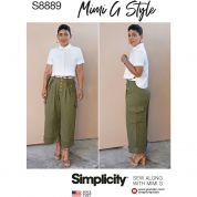 Simplicity Sewing Pattern 8889
