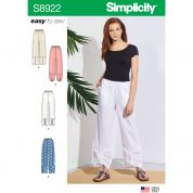 Simplicity Sewing Pattern 8922