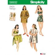 Simplicity Sewing Pattern 8932
