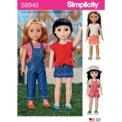 Simplicity Sewing Pattern 8940