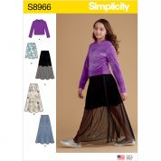 Simplicity Sewing Pattern 8966