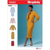 Simplicity Sewing Pattern 8982