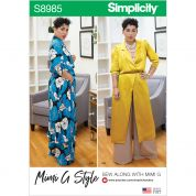Simplicity Sewing Pattern 8985
