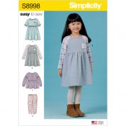 Simplicity Sewing Pattern 8998