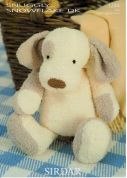 Sirdar Dog Toy Snowflake Knitting Pattern 1244  DK