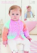 Hayfield Baby Cardigans Baby Changes Knitting Pattern 1499  DK
