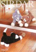 Sirdar Cat Toys Touch Knitting Pattern 2474