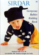 Sirdar Gorgeous Babies Knitting Book 264 Knitting Pattern Book  DK