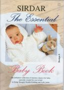 Sirdar The Essential Baby Book 273 Knitting Pattern Book  4 Ply, DK
