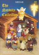 Sirdar The Christmas Nativity Collection 285 Knitting Pattern Book  DK