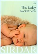 Sirdar The Baby Blanket Book 320 Knitting Pattern Book  4 Ply, DK