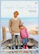 Sirdar Simple Easy Knits 331 Knitting Pattern Book  DK