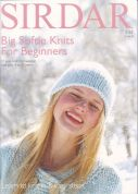 Sirdar Big Softie Knits For Beginners 344 Knitting Pattern Book  Super Chunky