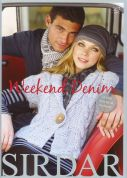 Sirdar Knitting Pattern Book Weekend Denim 367