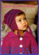 Sirdar Baby Jack in a Box Knits 378 Knitting Pattern Book  DK