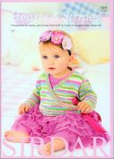 Sirdar Baby Hearts & Stripes 395 Knitting Pattern Book  DK