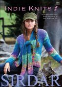 Sirdar Indie Knits 2 406 Knitting Pattern Book  Super Chunky