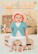 Sirdar Beach Hut Babies 435 Knitting Pattern Book  DK