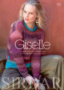 Sirdar Giselle 450 Knitting & Crochet Pattern Book  Aran