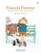 Sirdar Friends Forever 473 Knitting Pattern Book  DK