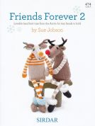 Sirdar Friends Forever 2 474 Knitting Pattern Book  DK