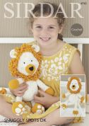 Sirdar Logan The Lion Toy Crochet Pattern 4743  DK